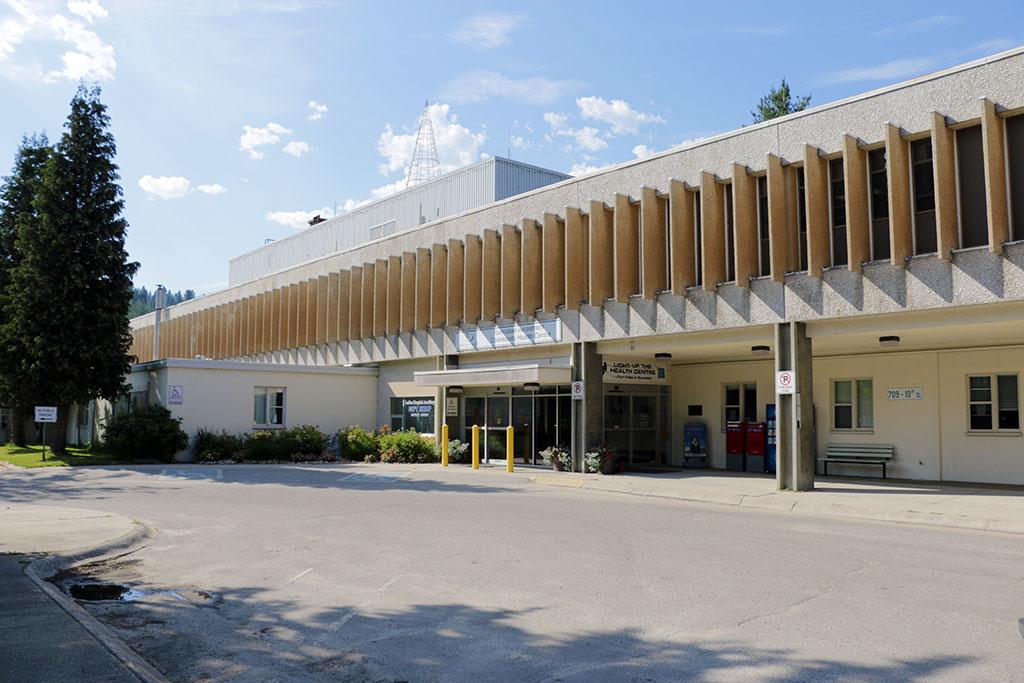 Castlegar Health Centre Entrance