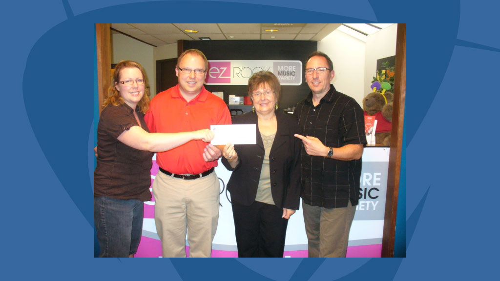 EZ Rock Supports Castlegar & District Hospital Foundation