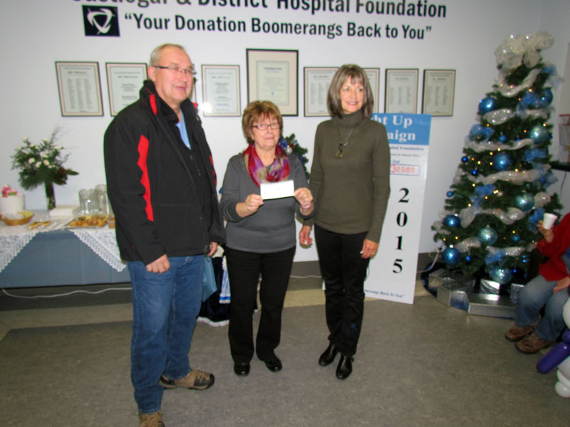 Light Up 2015 - Castlegar Mayor Lawrence Chernoff Donation.