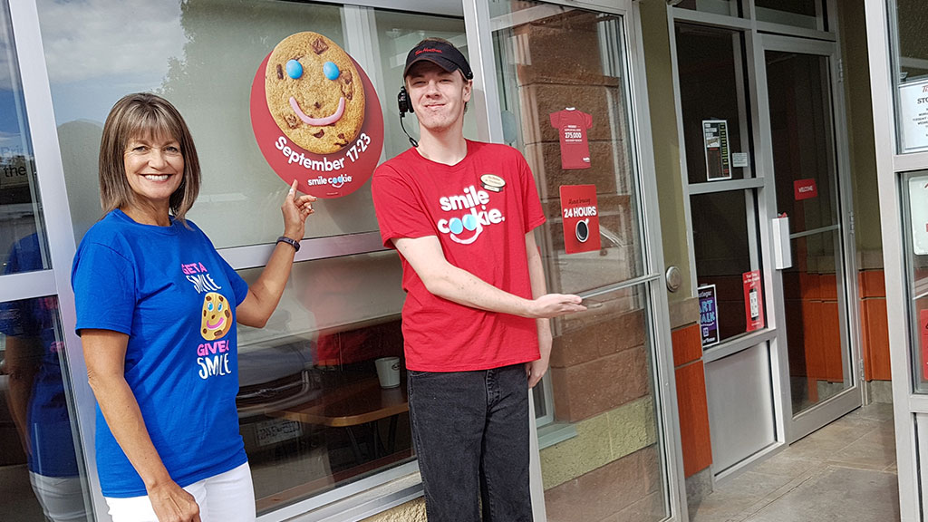 September 17th through 23rd 2018 is SMILE COOKIE WEEK at Tim Hortons!